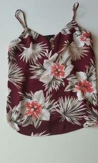 Dynamite floral print tank top