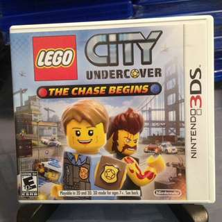 3DS 美版 Lego City Undercover The Chase Begins 樂高城市 臥底密探追捕