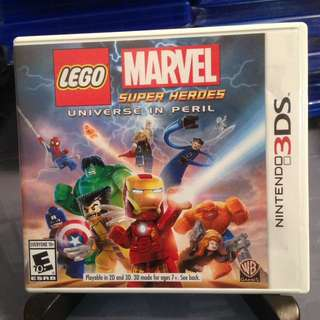 3DS 美版 Lego Marvel Super Heroes Universe In Peril 樂高 漫威超級英雄