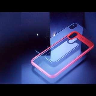 Iphone x Auto focus silicon phone case