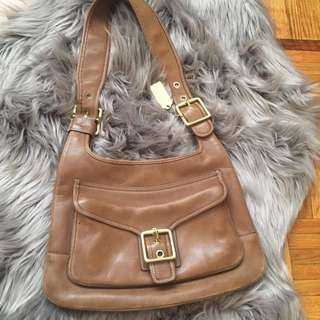 Couch Brown Leather Purse