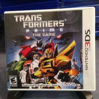 3DS 美版 Transformer Prime The Game 變形金剛領袖之證