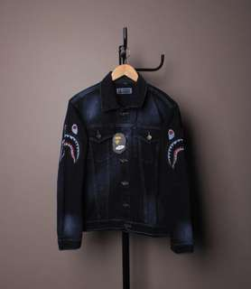 Jaket Jeans A Bathing Ape