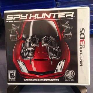 3DS 美版 Spy Hunter 間諜獵手