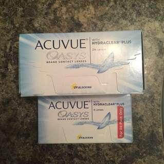 30 bi weekly Contact lenses -4.5