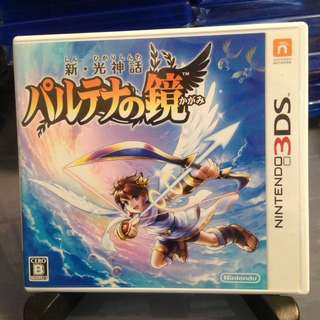 3DS 日版 新 光神話 帕爾提娜之鏡