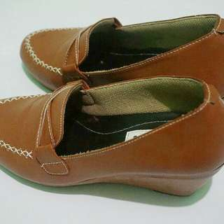Wedges Murah - Handmade Galdy Shoes