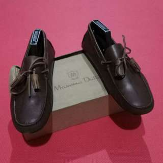 Massimo Dutti Moccasins Full Leather