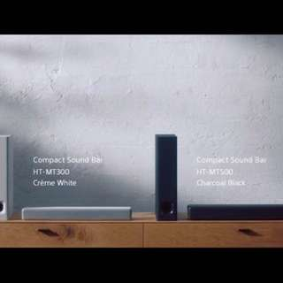 Sony HT-MT500 2.1ch compact Soundbar with wifi/Bluetooth technology