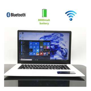 15.6' inch 16:9 HD screen laptop Windows10 In-tel HD Graphics 8000MAh battery 4GB+64GB SSD Notebook ultrabook computer webcam