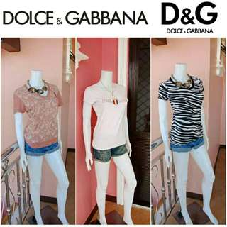 ⬇🔖Slashed Price Down🔖⬇ 🎉Buy 2 Get 1🎉 -Yunik- Authentic Dolce And Gabbana