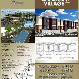 Affordable Lofted Rowhouse in San Rafael Bulacan