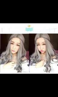 PO lolita wavy curly ladies wig with braids *Waiting time 12 days after payment is made *pm to order