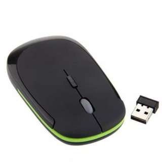2.4G USB Wireless Cordless Optical Mouse Mice Receiver for PC Laptop Ultra Slim