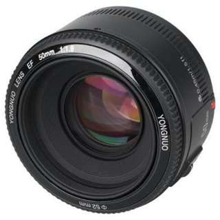 LOOKING FOR: Yongnuo 50mm 1.8 CANON EOS MOUNT