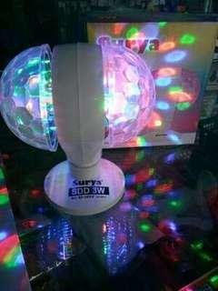 Lampu Led Double Disco Rotating Surya SDD 3w