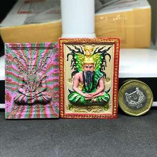Lersi Butterfly amulet by Kruba Krissana B.E.2560 Uv paint