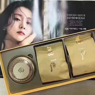 The History of Whoo Gongjinhyang Mi Luxury Golden Cushion #21 Set(SPF 50+, PA+++