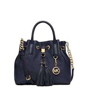 Michael kors Camden navy bag