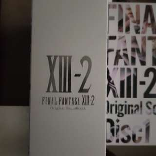 Final fantasy FULL and XIII-2 soundtrack