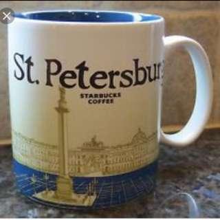 Starbucks St Petersburg City Mug Russia