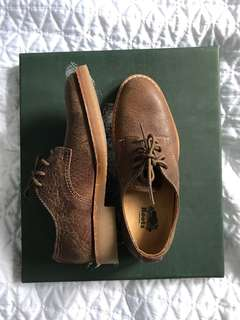 NEW ROOTS Size 6.5 Tribe Leather Oxford Shoes
