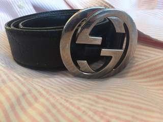 100% authentic Gucci belt