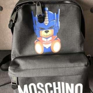 MOSCHINO背囊全新有正貨卡特別版