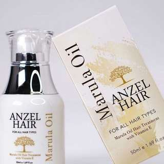 Anzel Hair Marula Oil + Vitamin E - 50ml