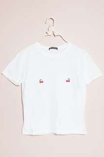 brandy melville cherry shirt