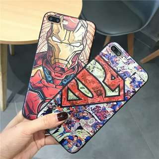 Iron man / Superman iPhone 6-X Casing