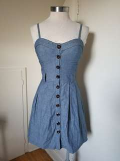Seduction Denim Dress