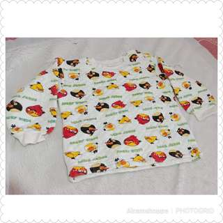 Angry Bird Longsleeves (size 7-8)