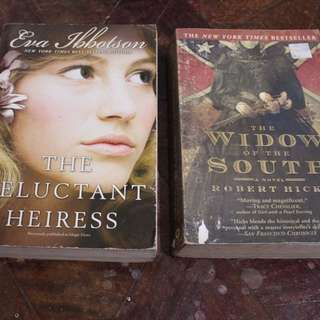 The Reluctant Heiress and Widow of the South