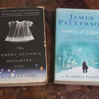 The Memory Keepers Daughter and Sundays in Tiffanys