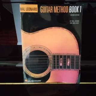Beginner Guitar Workbook