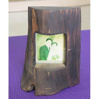 Unique Wooden Photo Frame W16 x H20 cm (Photo Siz 8x9cm)
