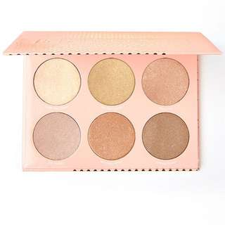 (PO) ColourPop In-Nude-Endo Highlighter Palette