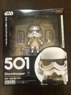 最後一隻 Goodsmile Star Wars Stormtrooper 星球大戰 白兵 黏土人