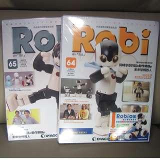 ROBI 機械人 全新零件 各一期 $170 -----64期,65期