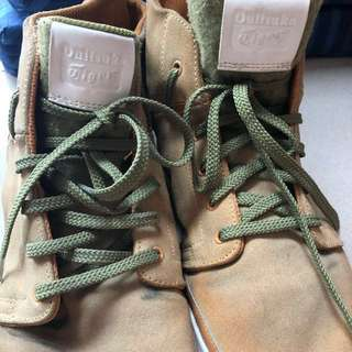 Onitsuka Tiger RARE Tan Rubber Sole shoes