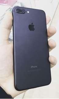 Iphone 7 plus Black 32gb (1 week used)