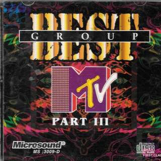 MY PRELOVED CD BEST GROUP MTV PART III - /FREE DELIVERY (F7T))