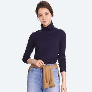 Uniqlo Supima® cotton TurtleNeck L/S T-Shirt