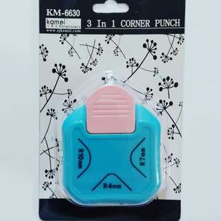 3 in 1 Corner Puncher