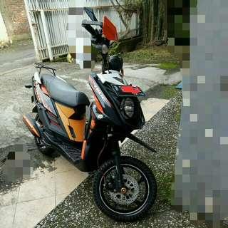 Motor Yamaha XRide 2014 Akhir