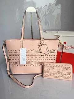 Kate Spade Bag & Wallet Set