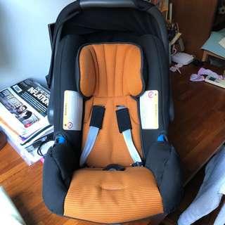 Audi infant car seat