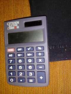 Kalkulator Citizen tidak pake baterai