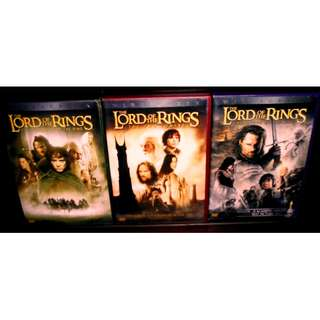 Lord Of The Rings Trilogy DVD Collection Theatrical Version Region 1